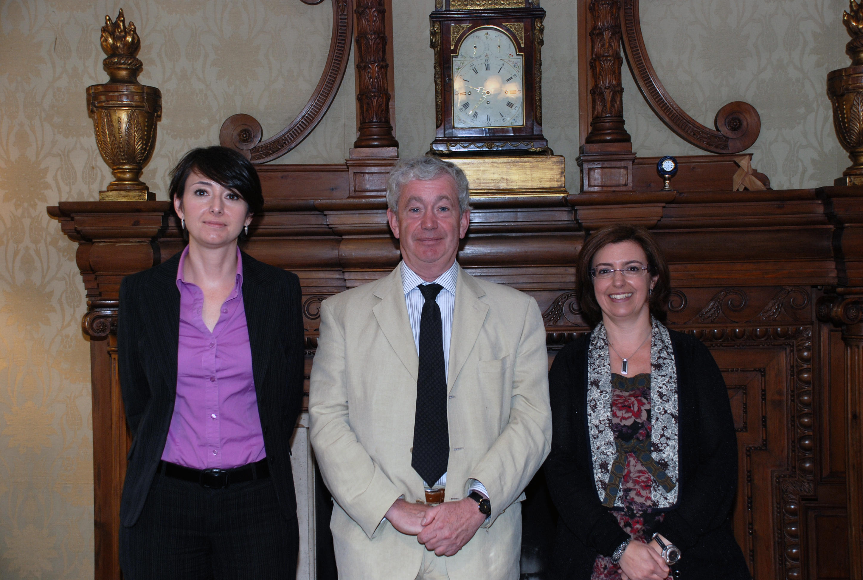 Visita del 'principal' de la Universidad de Edimburgo