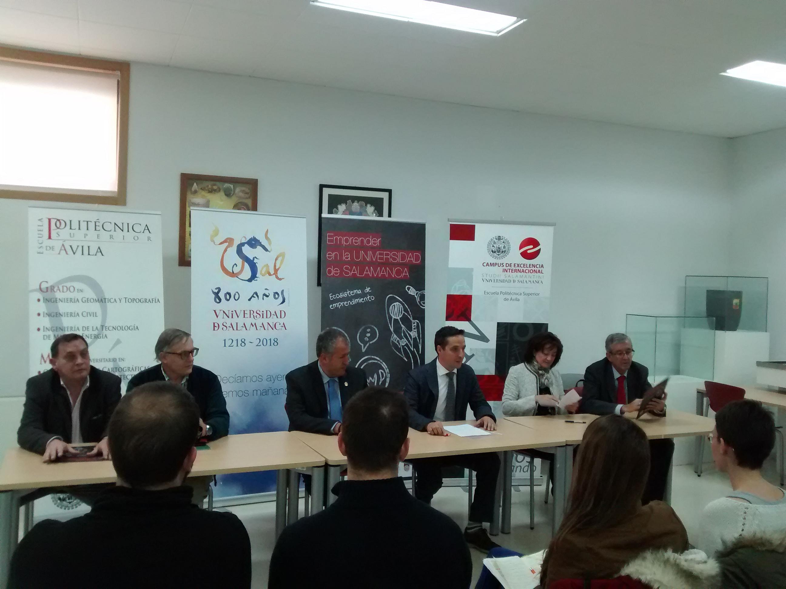 La Universidad de Salamanca inaugura su nuevo espacio de emprendimiento en el campus de Ávila