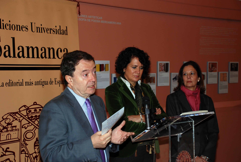 "Presentación de la exposición ""Premio Reina Sofía de Poesía Iberoamericana (1992-2011). XX aniversario"""