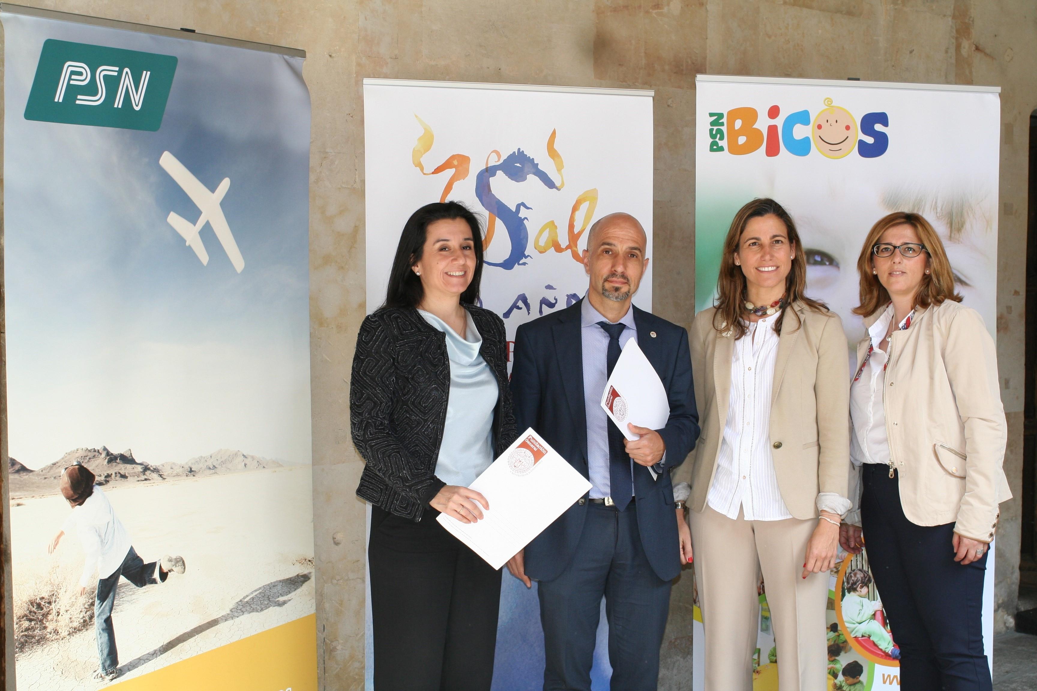 El Grupo PSN y la Escuela infantil PSN Bicos Salamanca se integran en el grupo de Empresas Amigas de la Universidad de Salamanca