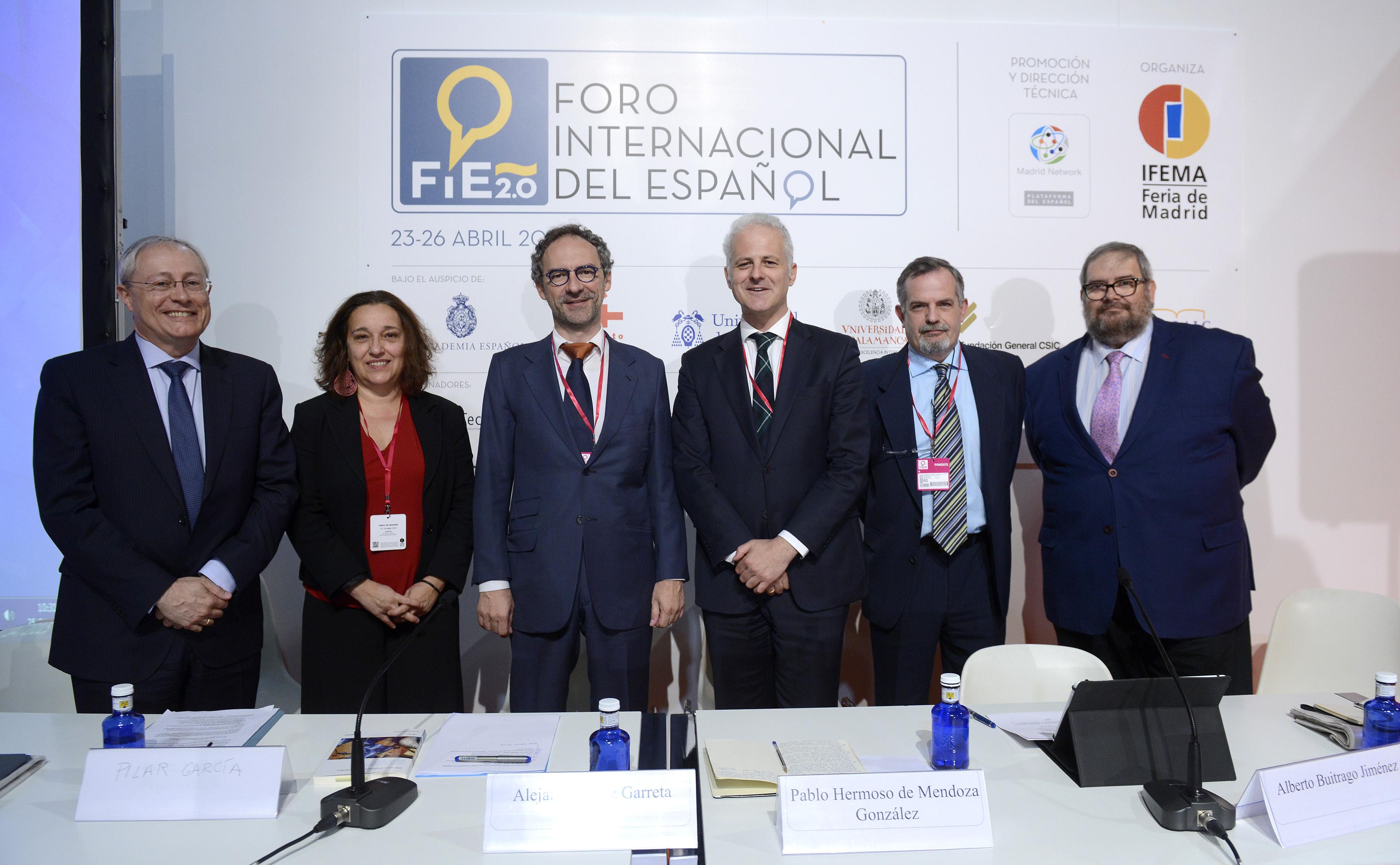 Cursos Internacionales aporta su experiencia pedagógica para le enseñanza del español en el foro Internacional del Español