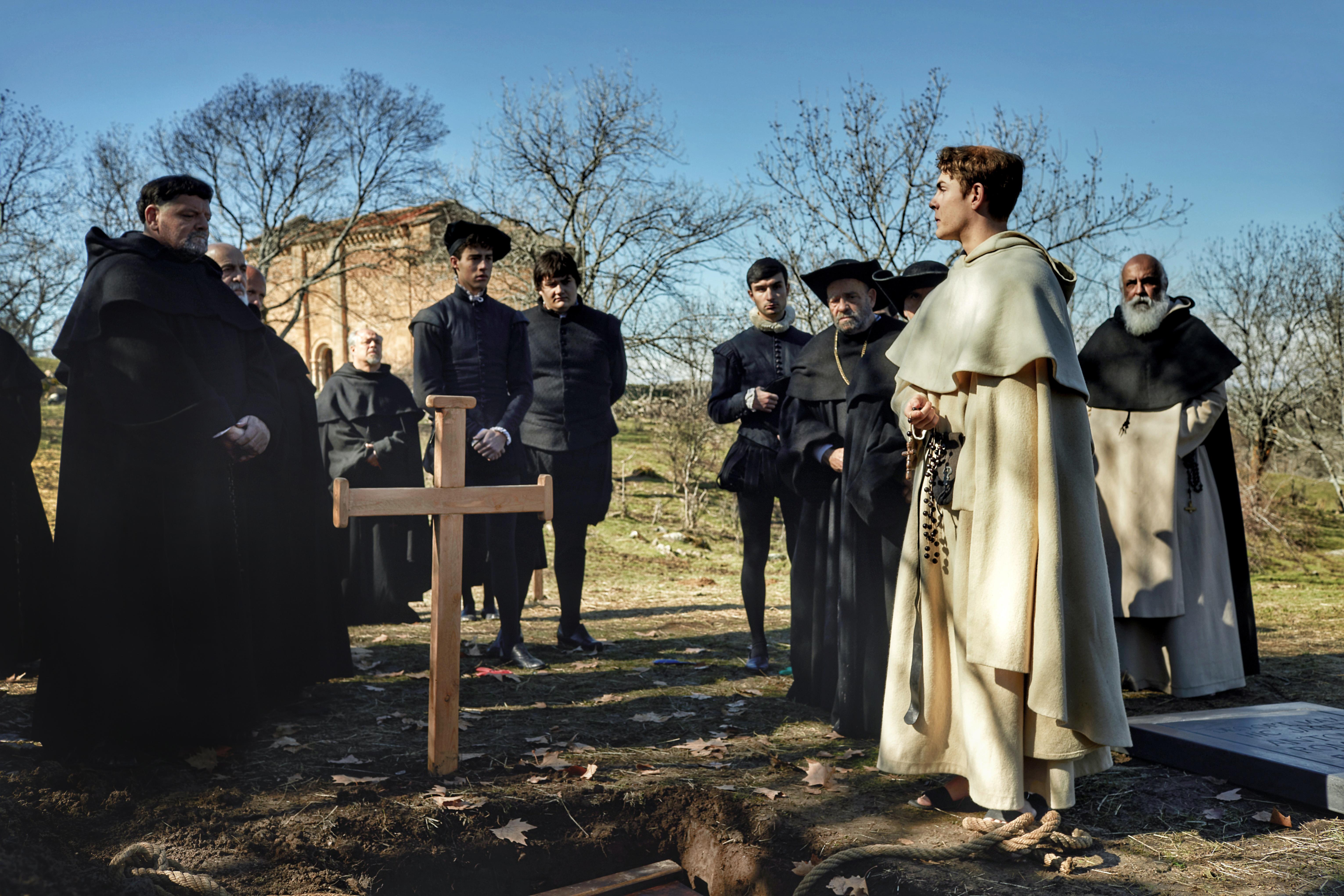 Salamanca y su Universidad, escenario de la grabación de un thriller histórico