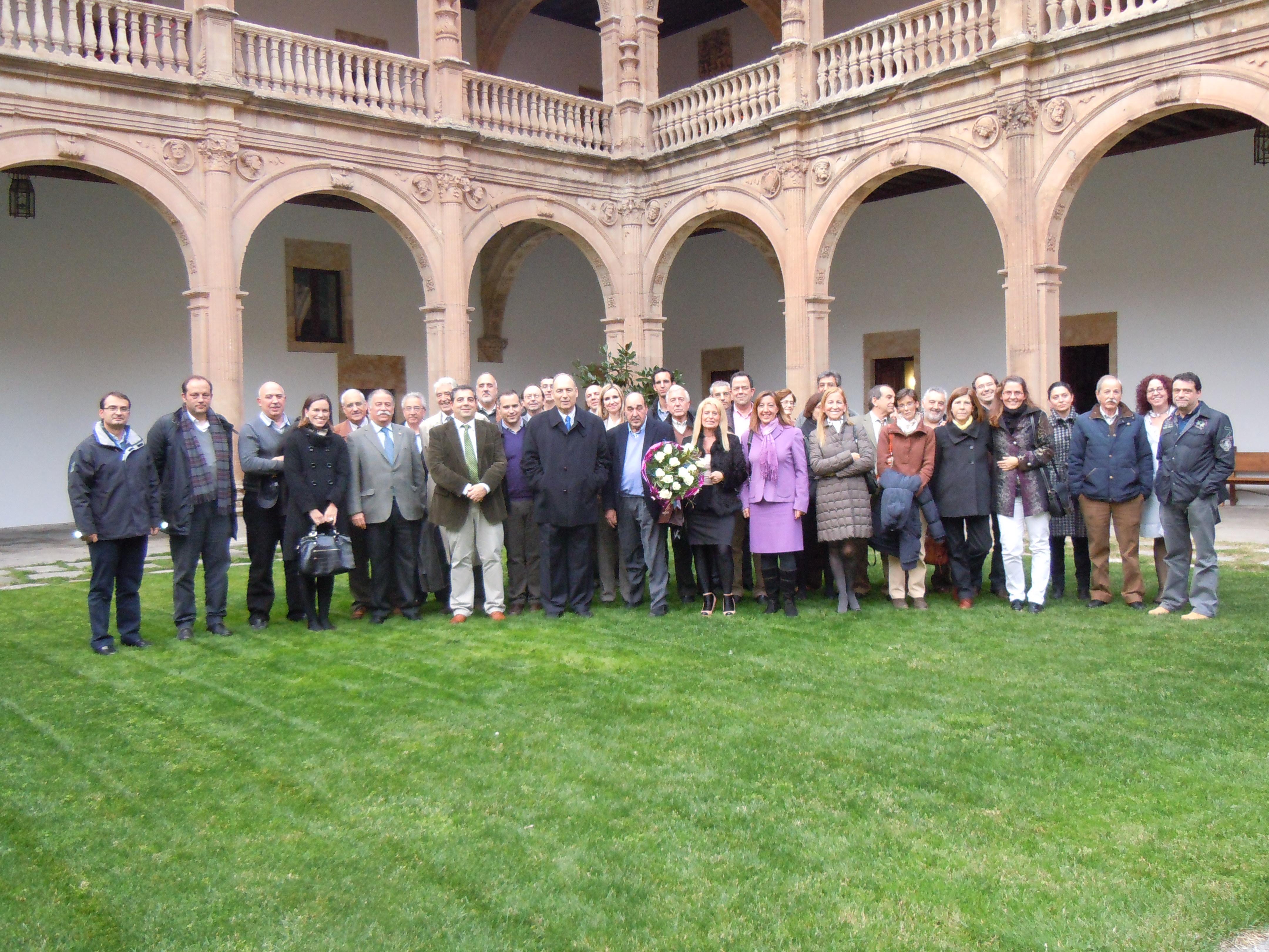 La Facultad de Ciencias Agrarias y Ambientales rinde homenaje al profesor Fernando Santos Francés