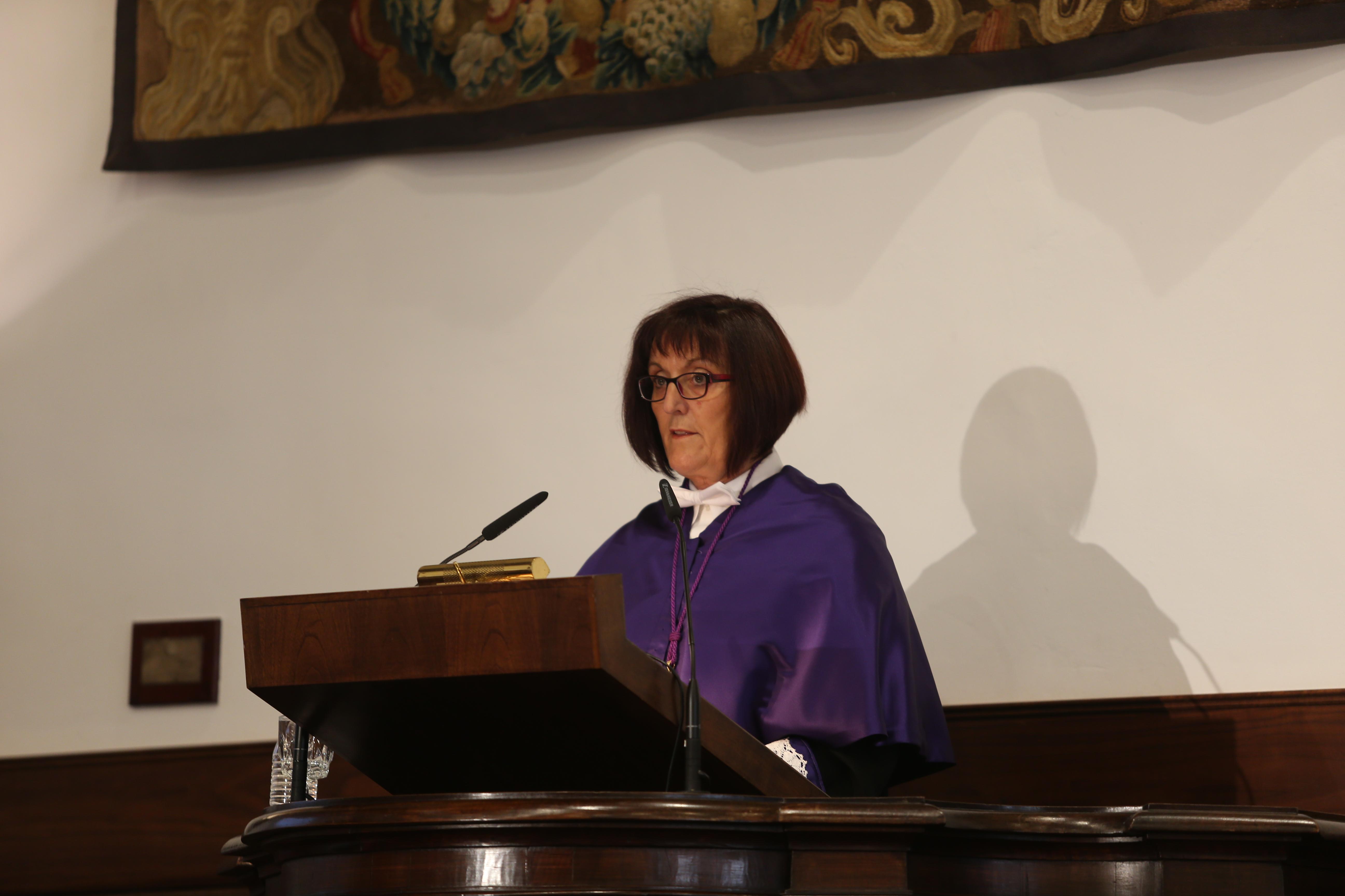 La Secretaria General en la inauguración del curso 2014-2015