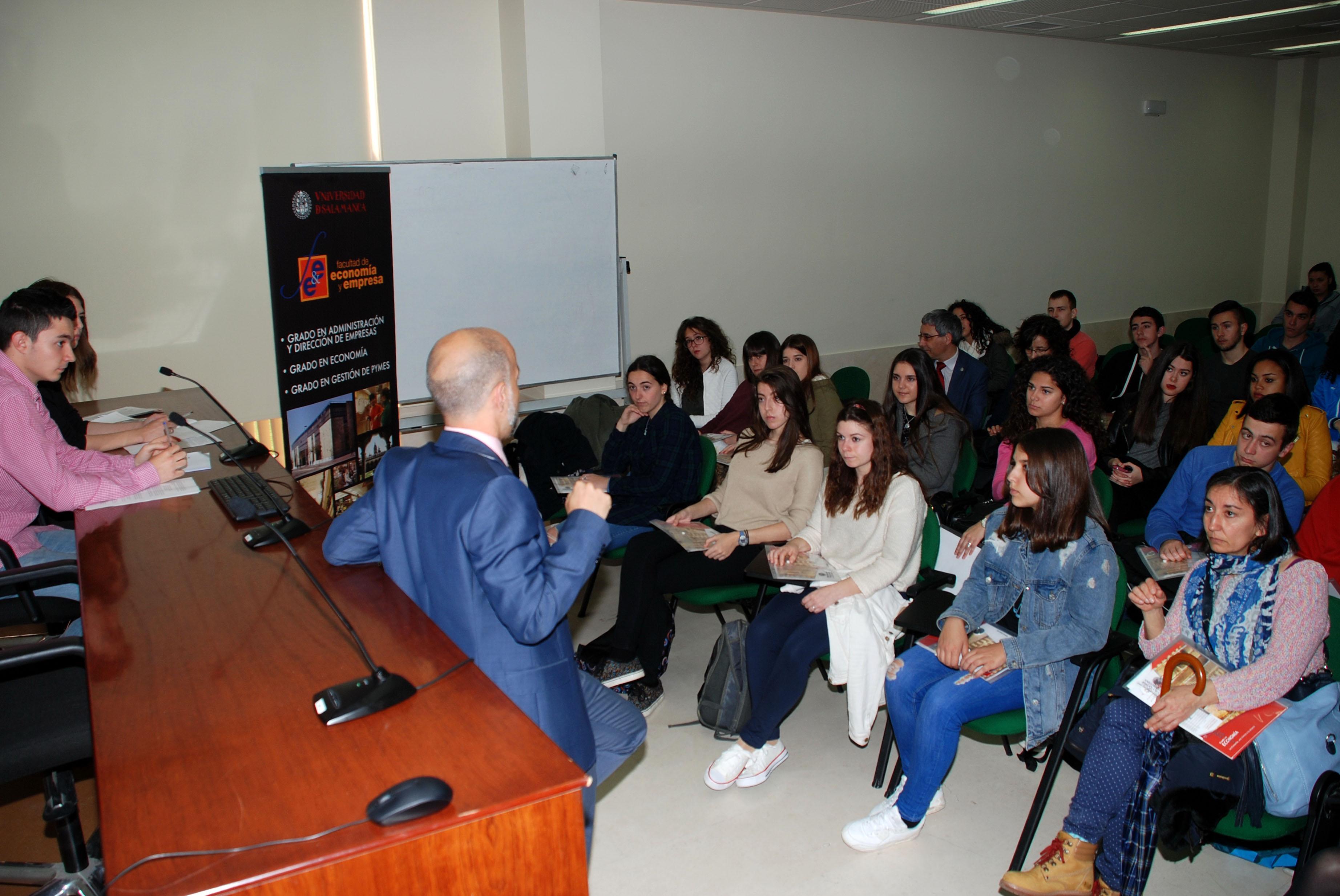 Más de 4.100 estudiantes conocen la oferta educativa de la Universidad de Salamanca en sus Jornadas de Puertas Abiertas