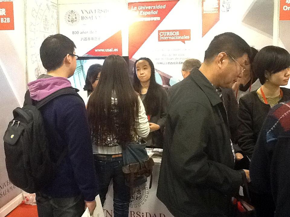 La Universidad participa en la '2013 China Expo Education' a través de Cursos Internacionales y Escuelas de Lengua Española