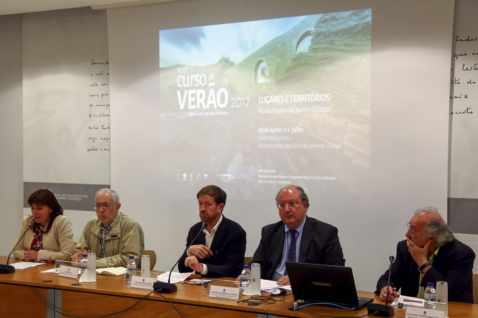 El Centro de Estudios Ibéricos inaugura, un año más, el Curso de Verano en la localidad portuguesa de Guarda