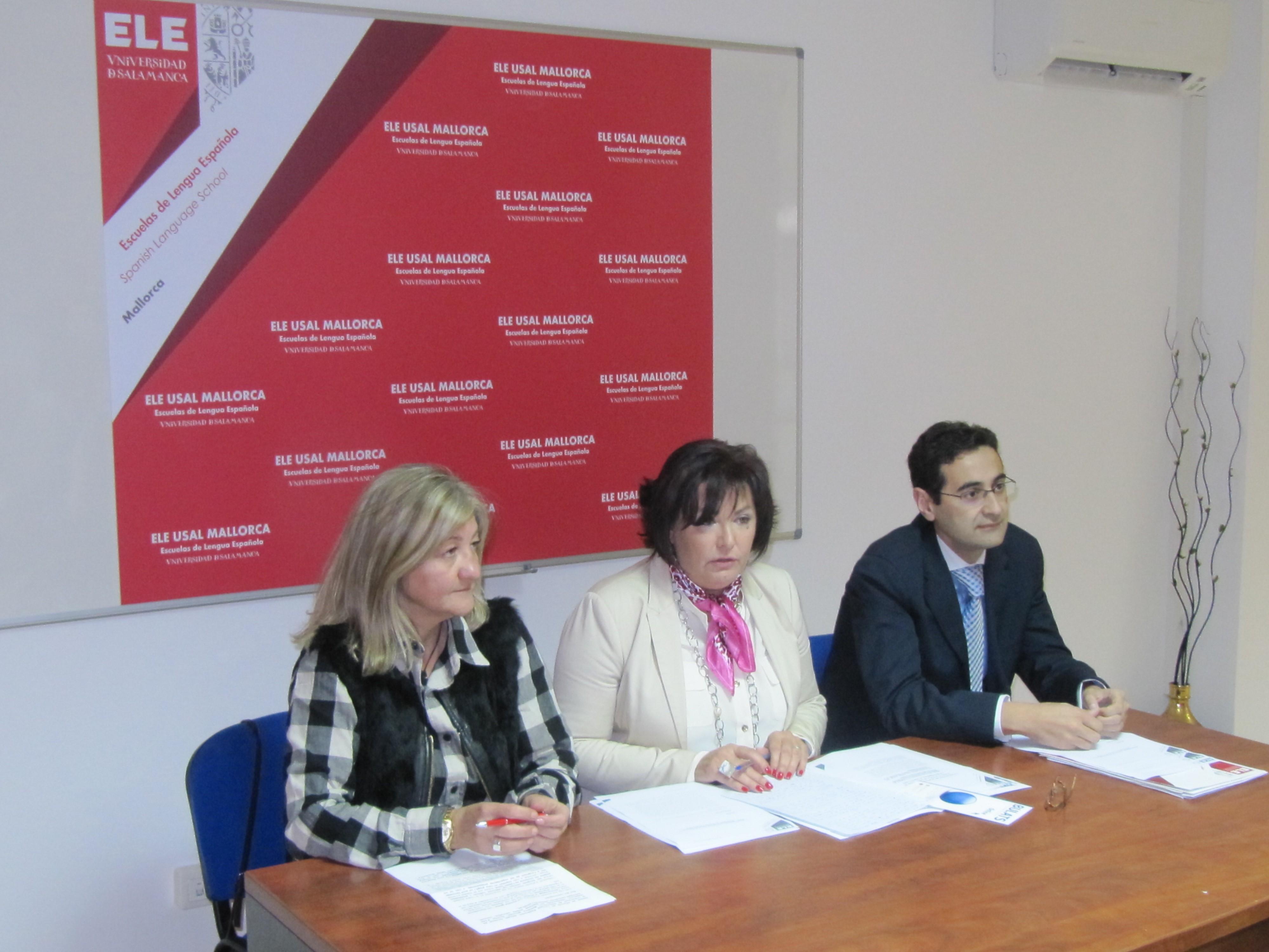 La Universidad de Salamanca inaugura en Palma la primera de sus Escuelas de Lengua Española en nuestro país