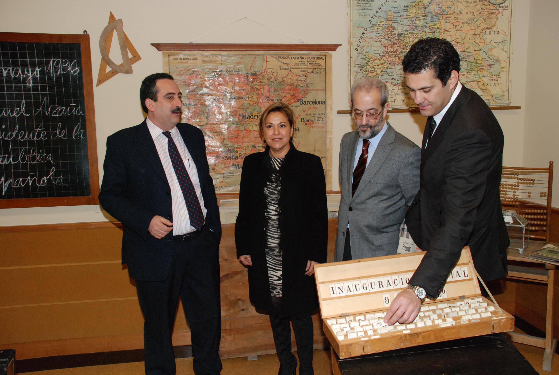 Inauguración del Museo Pedagógico de la Universidad de Salamanca