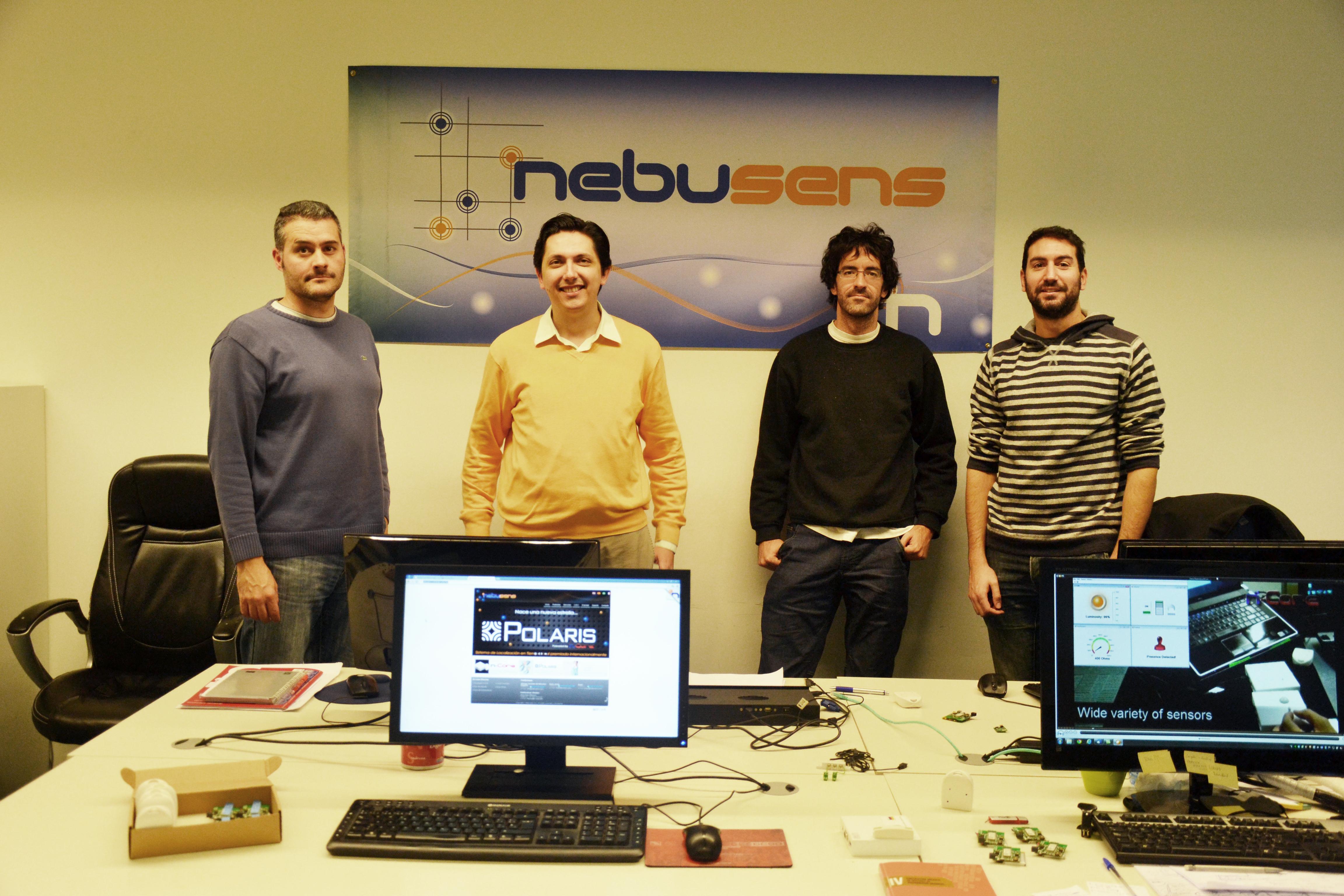La empresa Nebusens renueva su presencia en el Parque Científico de la Universidad de Salamanca