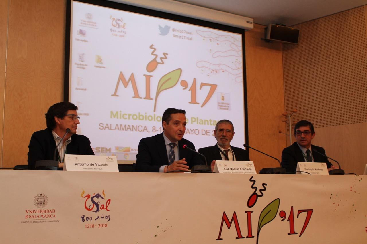Más de un centenar de investigadores se dan cita en la VII Reunión del Grupo especializado en Microbiología de Plantas (MIP-17)