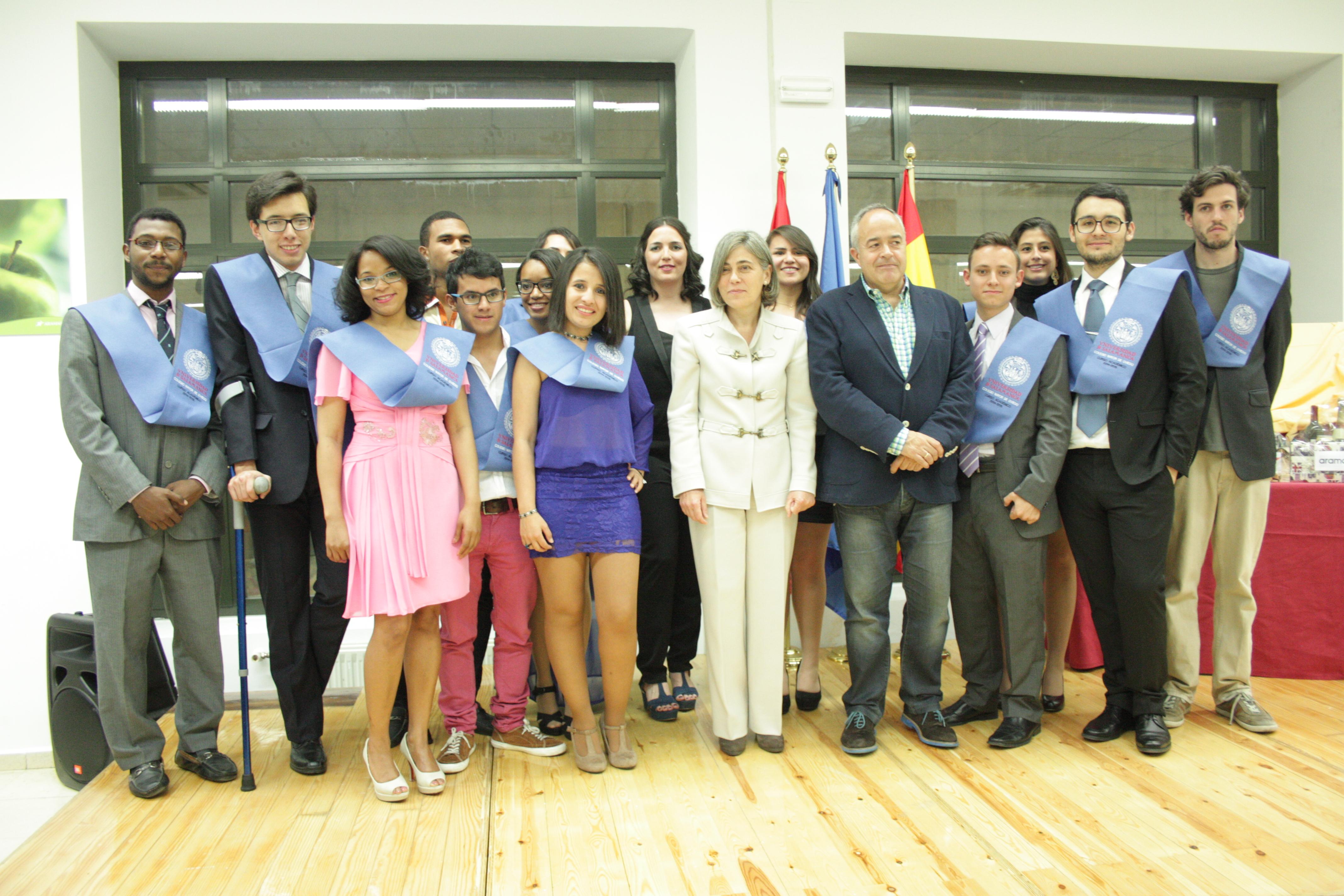 El Colegio Mayor Oviedo clausura el curso 2014-2015