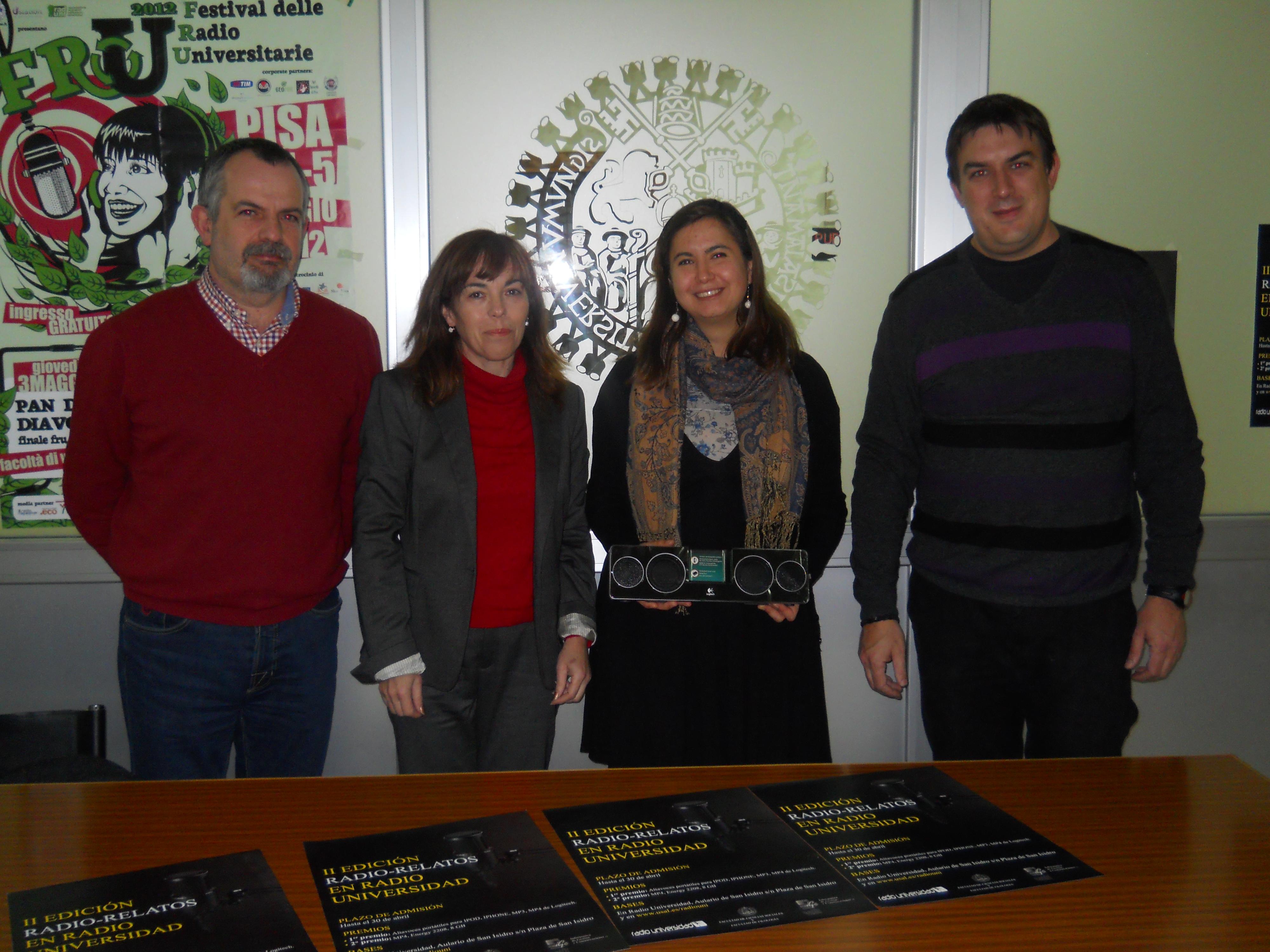 Una alumna de Bellas Artes se convierte en la ganadora de la segunda edición del concurso de relatos radiofónicos de Radio Universidad