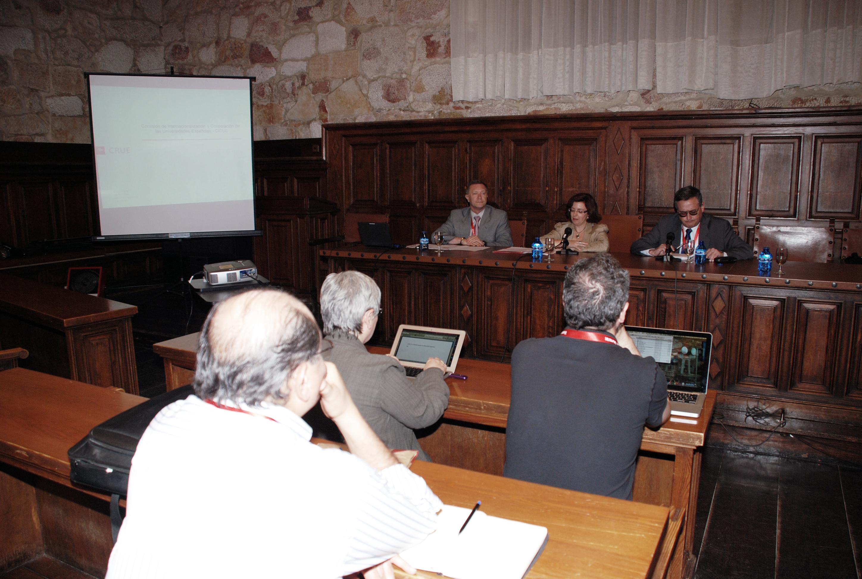 La Universidad de Salamanca acoge la reunión de la Comisión de Internacionalización y Cooperación de las Universidades Españolas