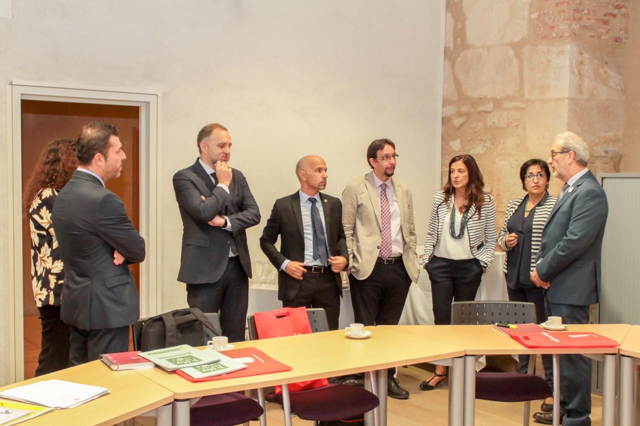 La Universidad de Salamanca acoge una reunión de laRed Ibérica de Entidades Transfronterizas