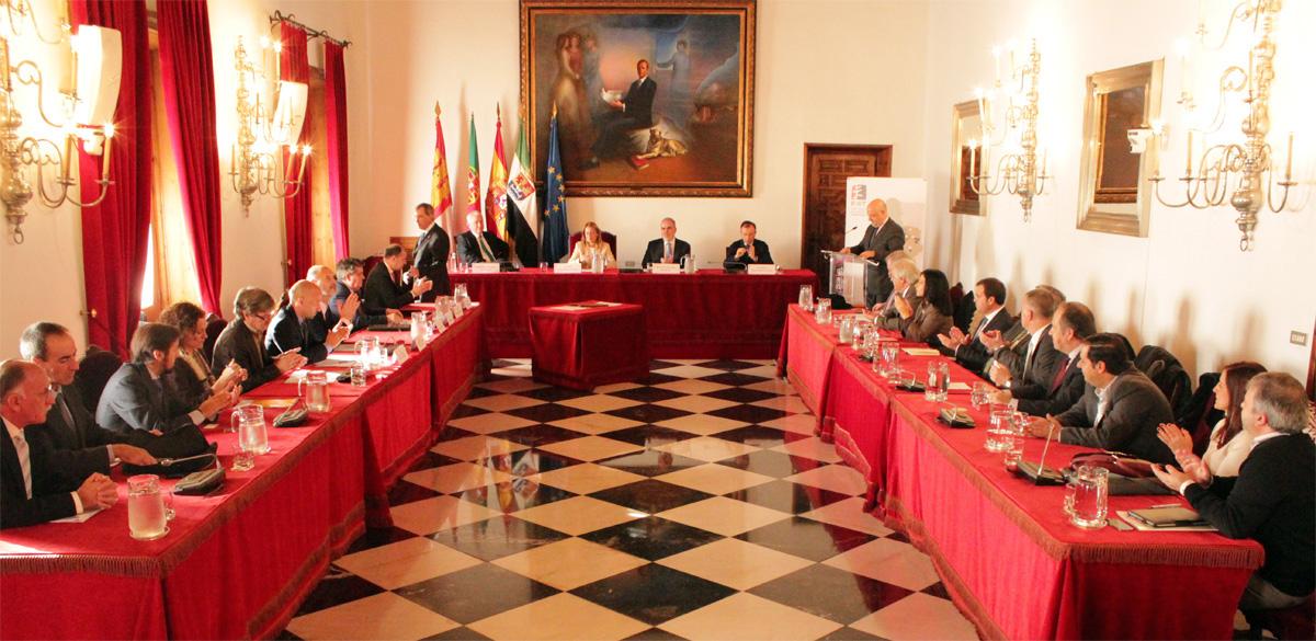 La Fundación General de la Universidad de Salamanca se adhiere a la Red Ibérica de Entidades Transfronterizas