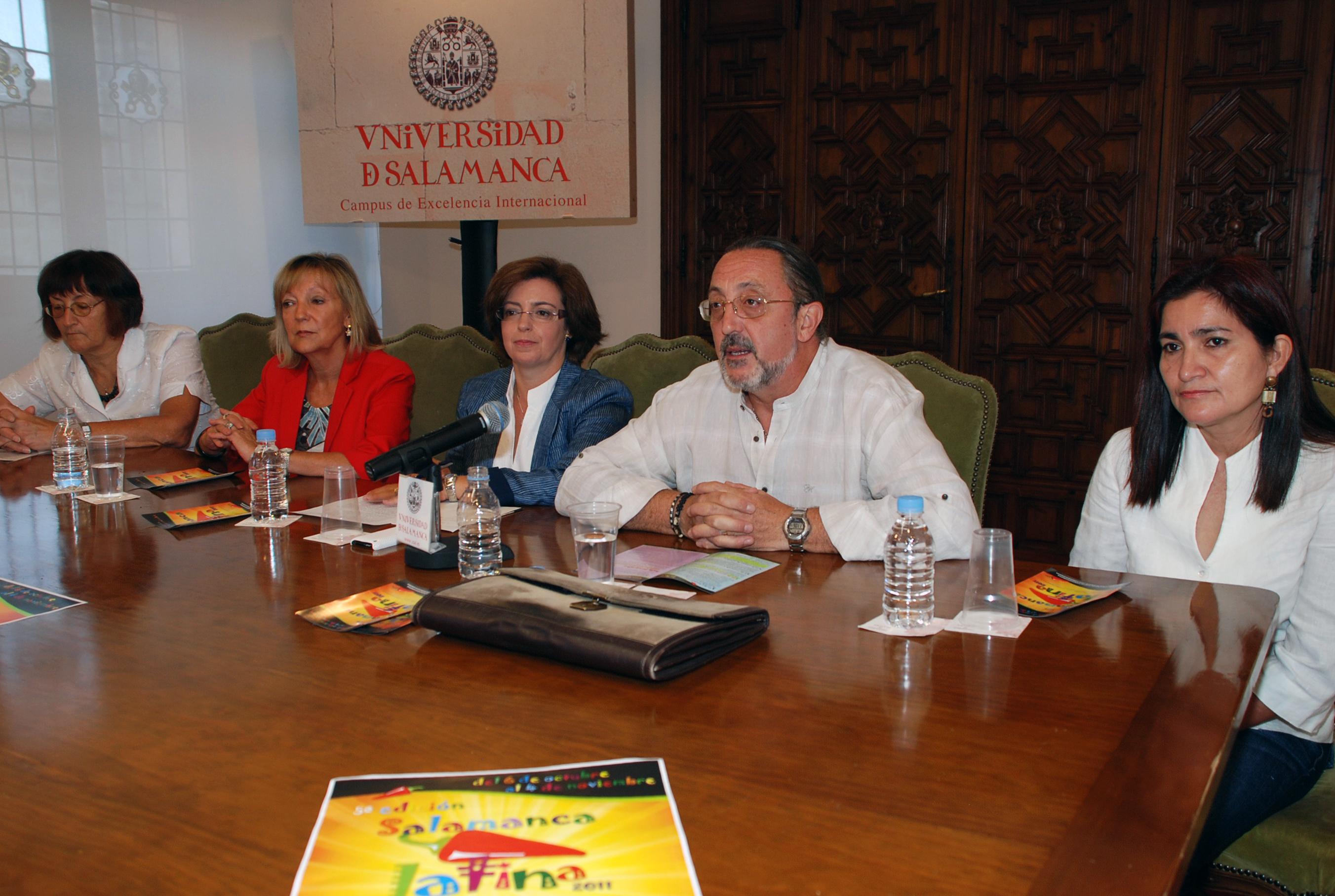 Presentación de las jornadas Salamanca Latina
