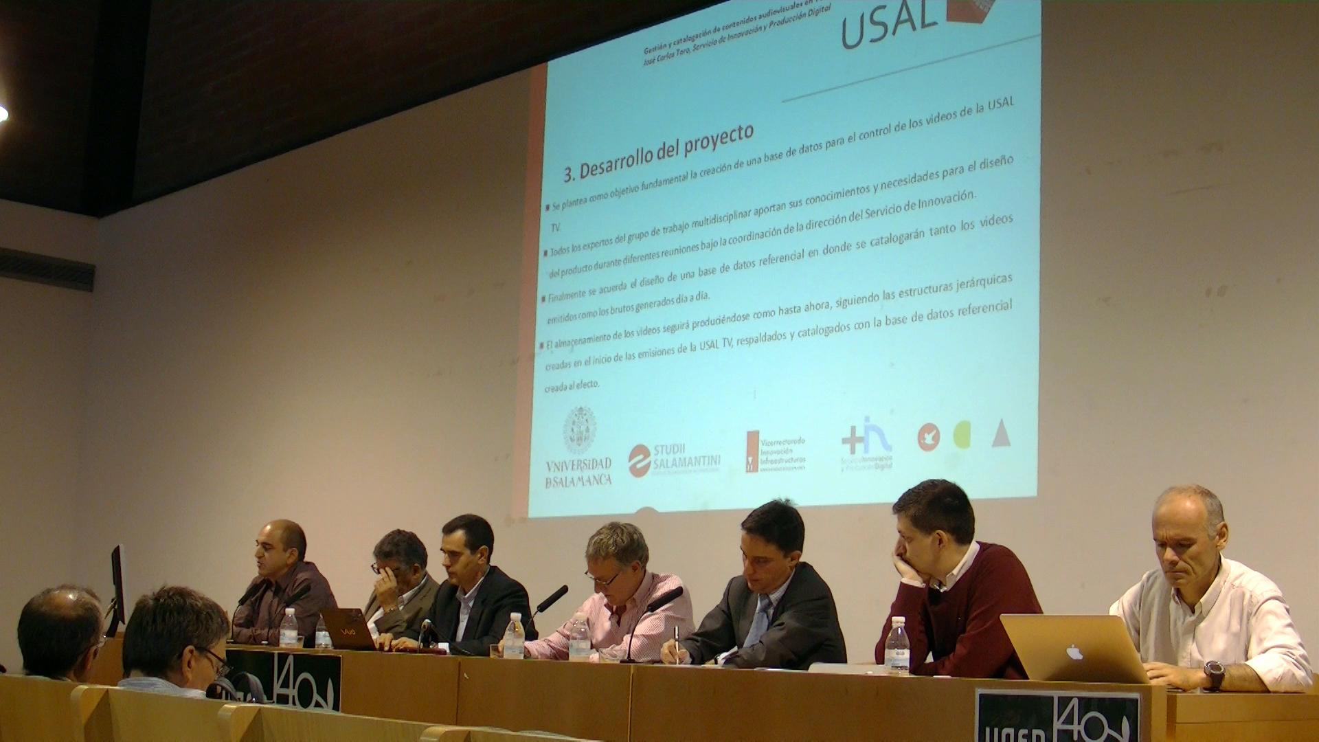 USAL TV presenta su sistema de gestión y archivo de contenidos audiovisuales a las universidades españolas