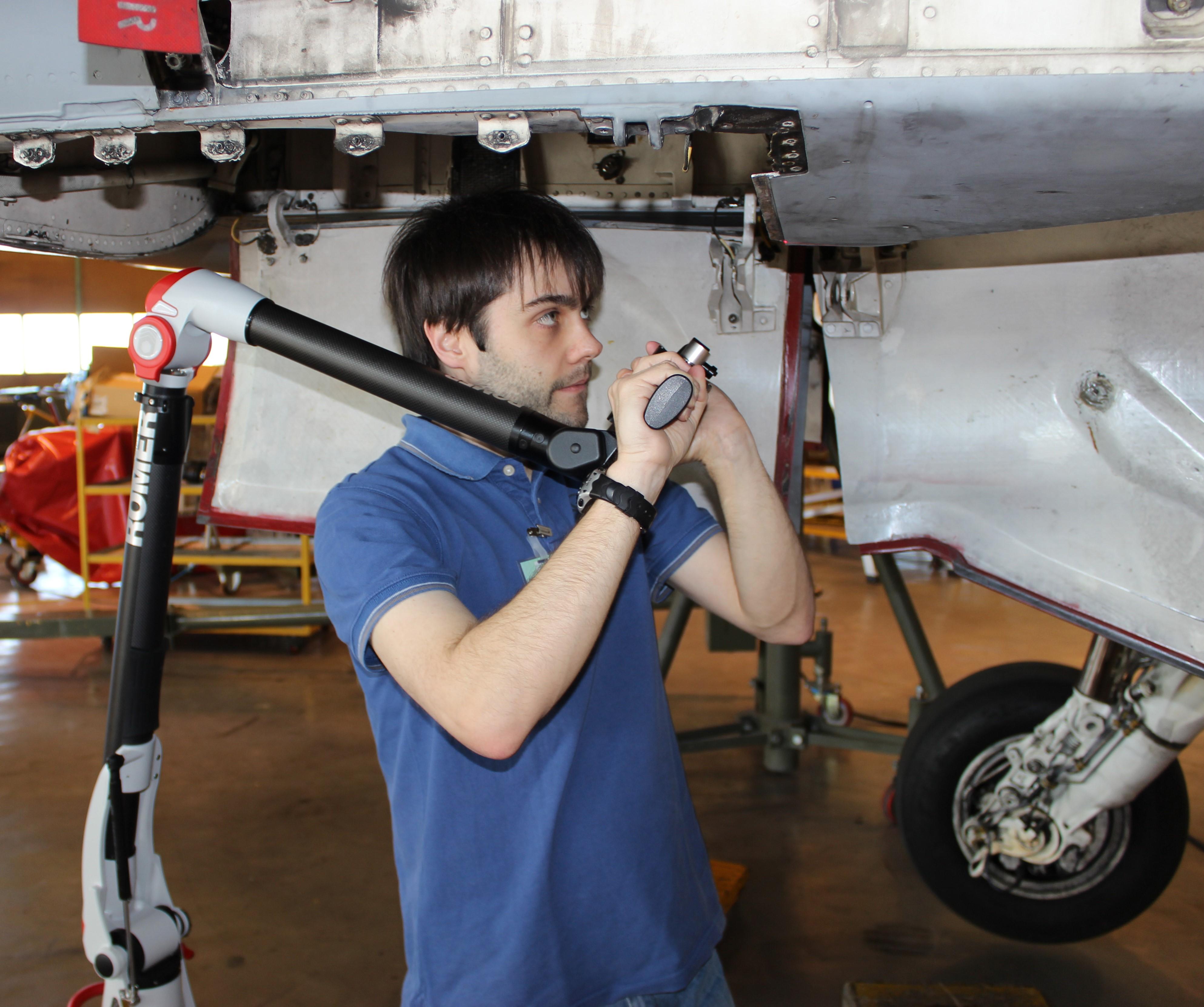 El grupo TIDOP de la Universidad de Salamanca colabora en un novedoso sistema de realidad aumentada para el mantenimiento de la flota aérea militar