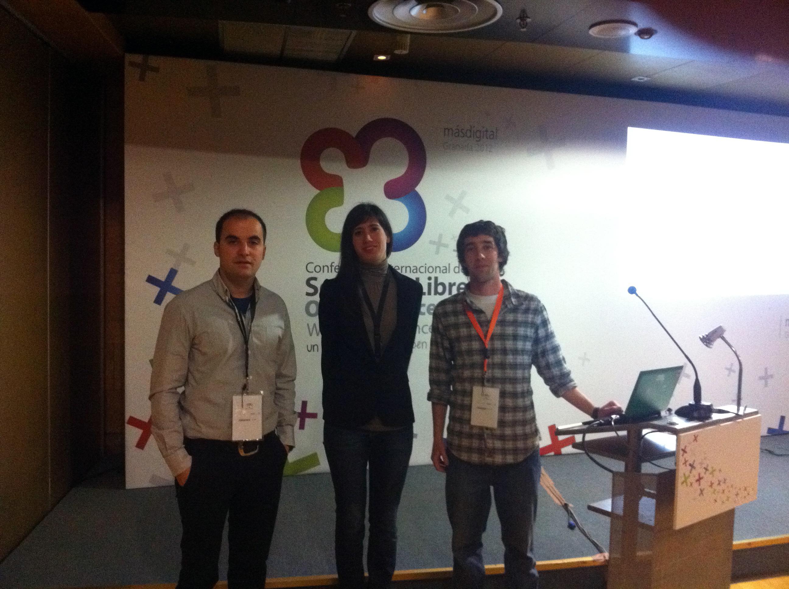 El Servicio de Innovación y Producción Digital participa en la Conferencia Internacional de Sofware Libre celebrada en Granada