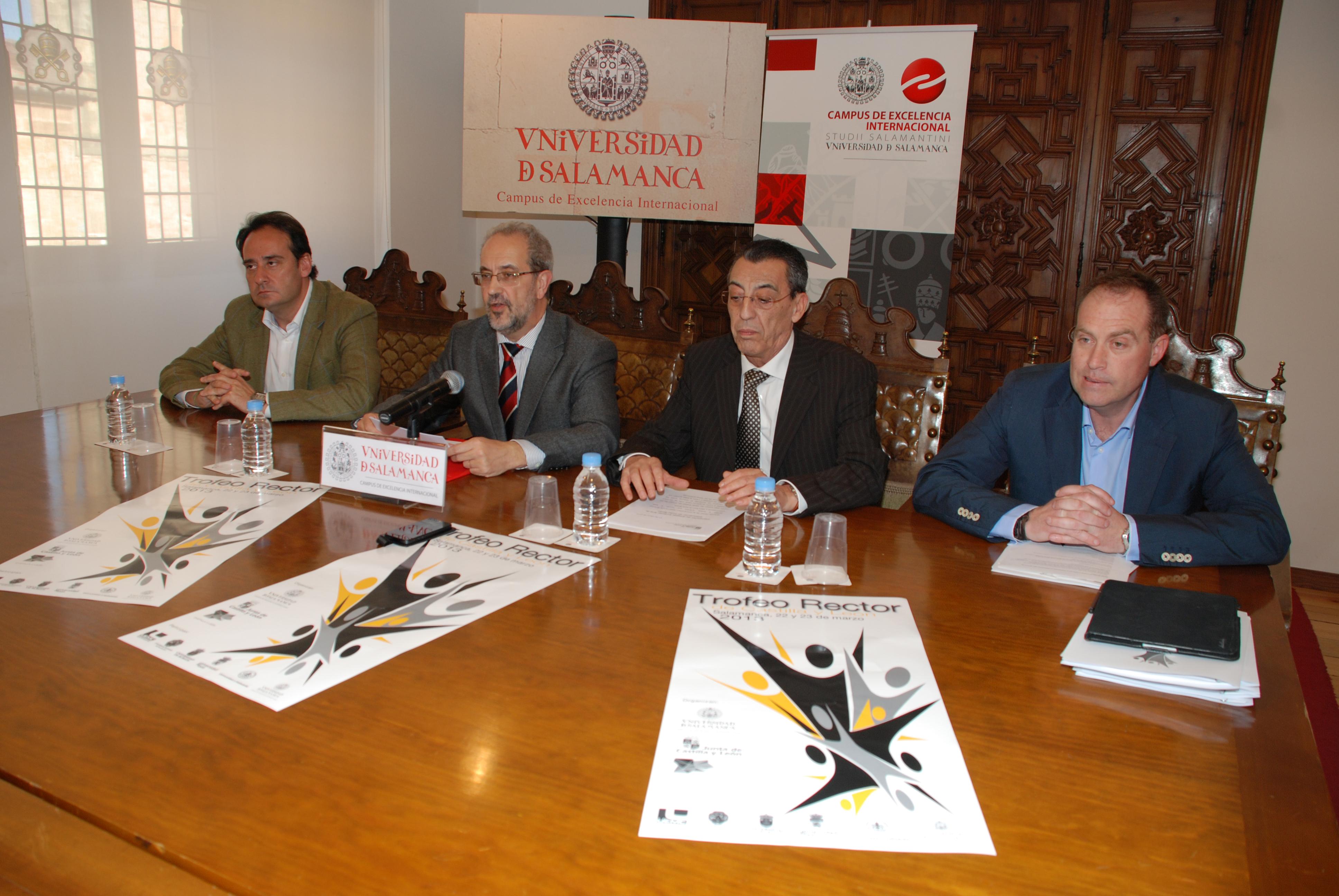 Casi 600 deportistas de la región participarán en el Trofeo Rector Castilla y León organizado por la Universidad de Salamanca