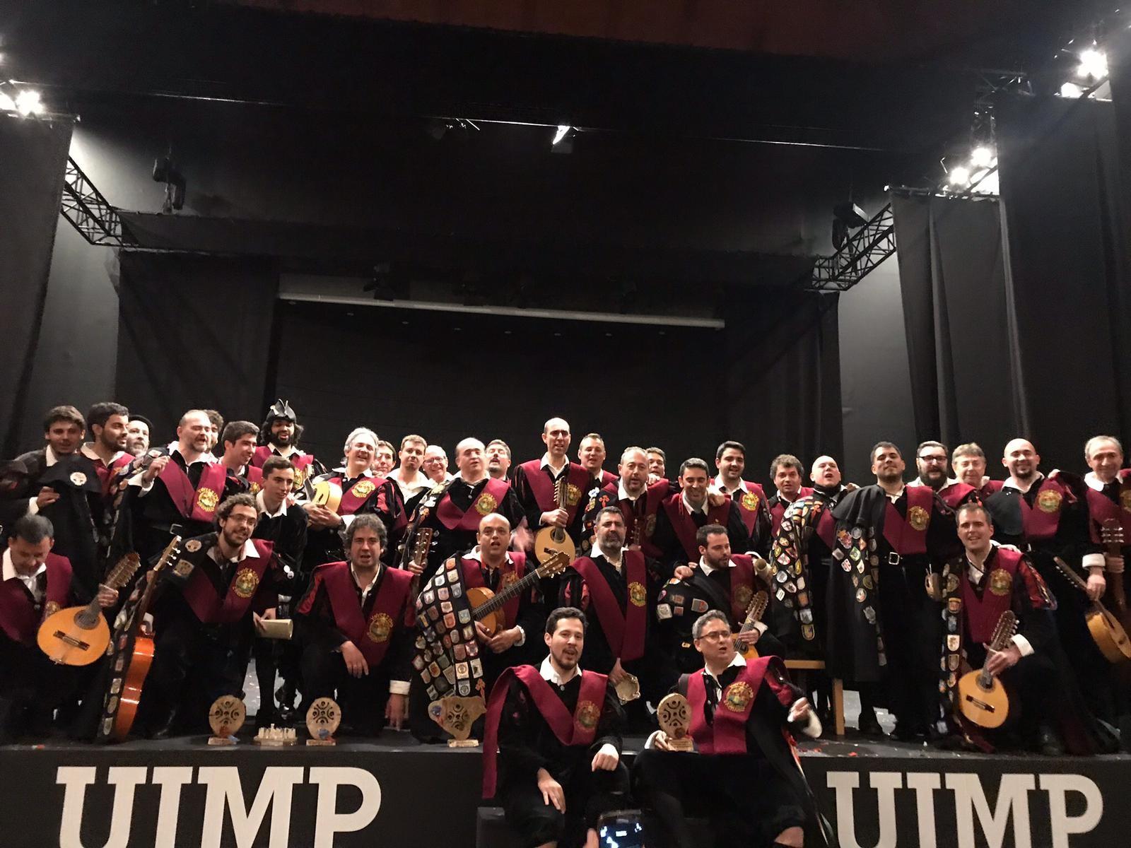 La Tuna Universitaria de Distrito de Salamanca se proclama ganadora del XV Certamen Nacional de Tunas 'Novia del Mar'