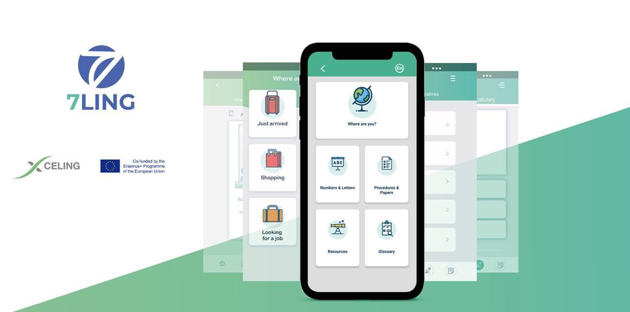 La Universidad de Salamanca lidera la creación de 7Ling, una innovadora app de idiomas multilingüe para migrantes y refugiados