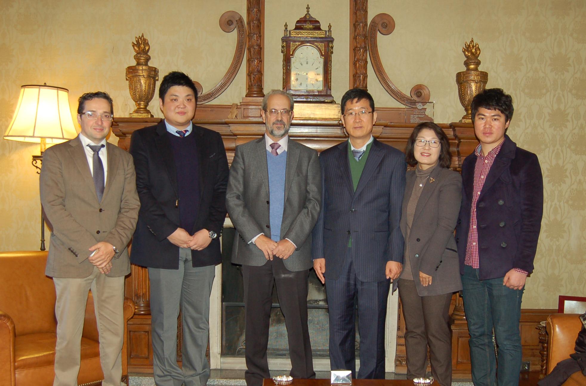 Investigadores de las Universidades de Salamanca y Sunchon desarrollan un proyecto internacional sobre inteligencia ambiental