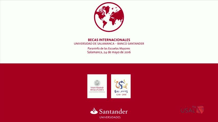 Las becas internacionales universidad de salamanca banco for Oficinas banco santander salamanca