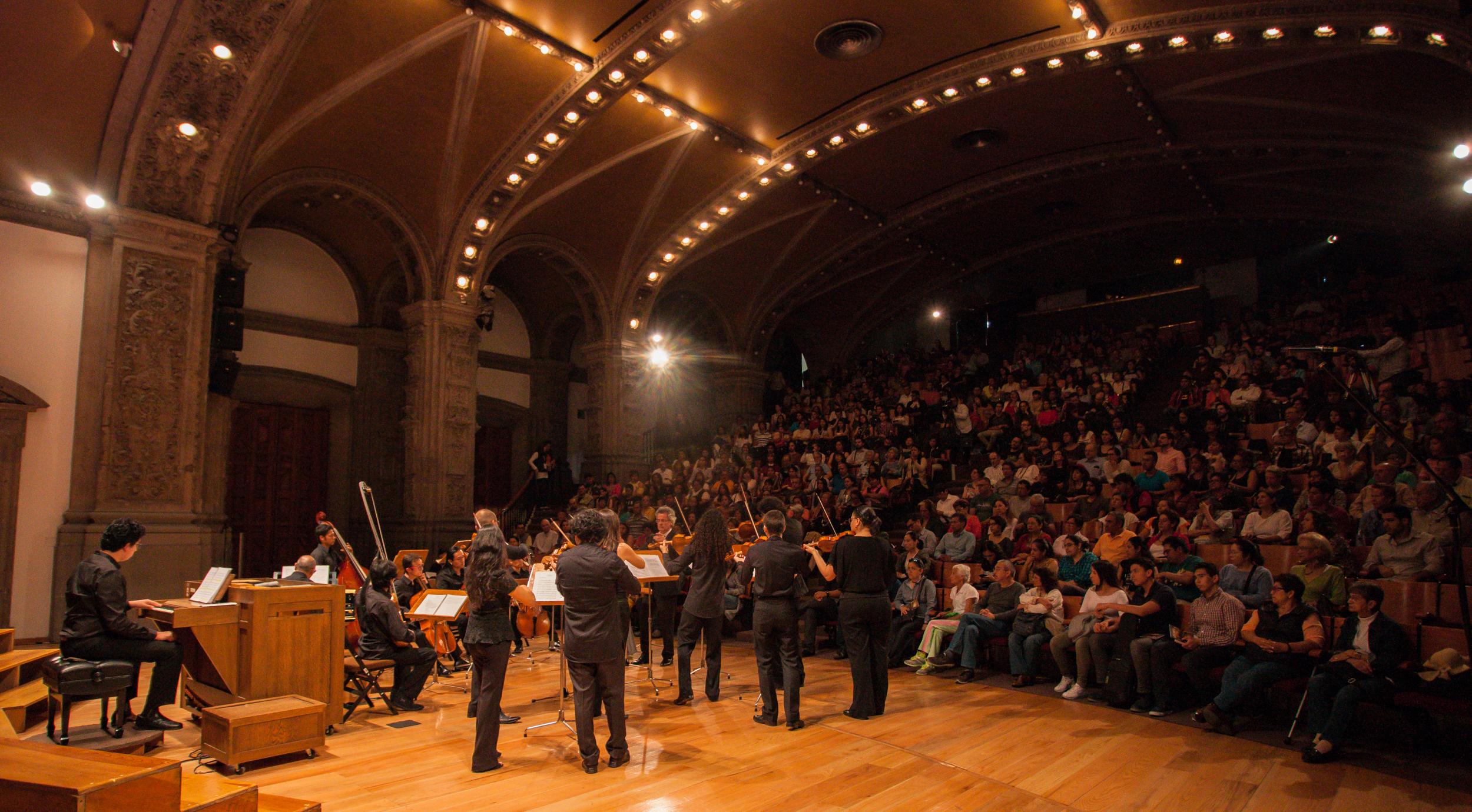 """Concierto de música barroca """"Música para una Universidad festejante"""", a cargo de la Academia de Música Antigua de la UNAM"""