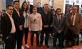 El rector inaugura la primera Escuela de Lengua Española en Estrasburgo