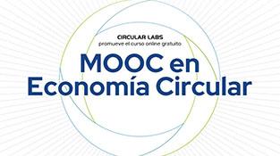 """Cartel """"MOOC en Economía Circular"""""""