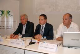 Visita de una delegación de la UFOP a la Universidad de Salamanca