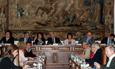 El rector de la Universidad de Salamanca recibe al secretario general de la Conferencia de Ministros de Justicia de los Países Iberoamericanos