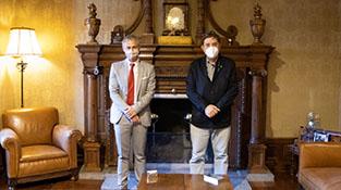 Ricardo Rivero y Luis García Montero
