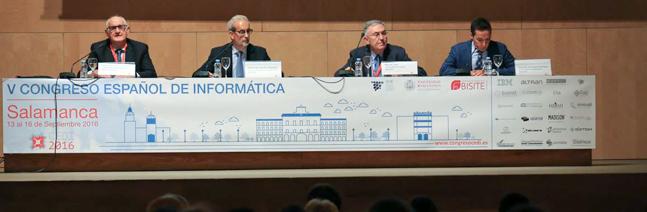Los informáticos entregan en Salamanca sus Premios Nacionales
