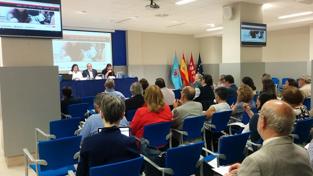 Imagen:reunión de la Comisión Ejecutiva de la Conferencia Estatal de Defensores Universitarios celebrada el pasado mes de mayo.