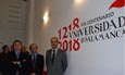 Carlos Palomeque, Ricardo López y Daniel Hernández en las nuevas instalaciones