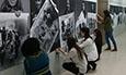 El Espacio de Cultura Científica de la Universidad recoge en una exposición fotográfica la conquista del Polo Sur por Amundsen, Scott y Shackelton