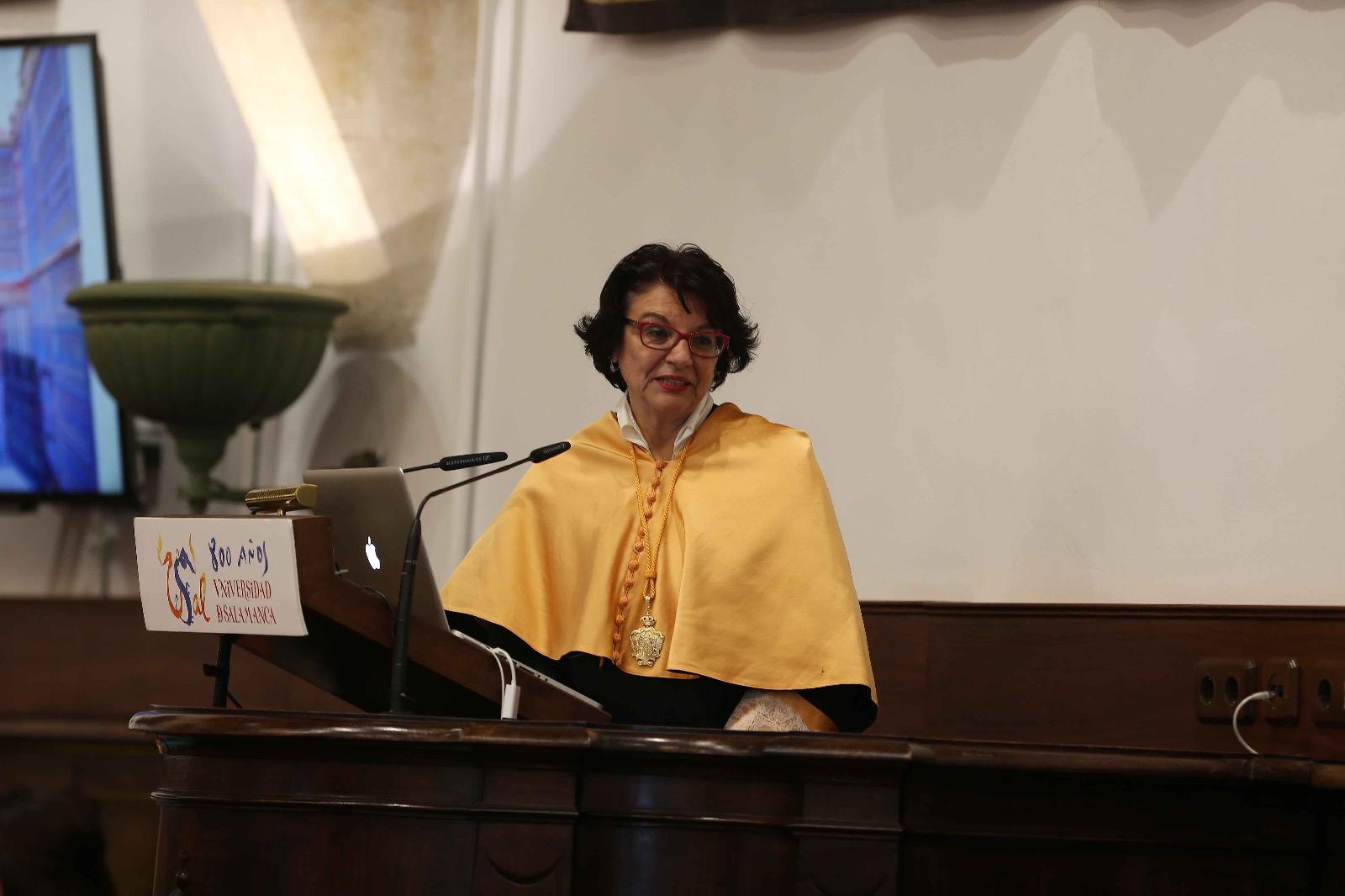 Soledad Murillo impartió la conferencia de la Festividad de Santo Tomás de Aquino.