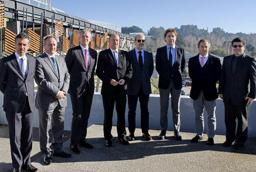 La vicerrectora de Internacionalización asiste a la clausura de los XXXVII Cursos de Especialización en Derecho