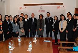La Universidad de Salamanca impulsa la colaboración con las universidades de Egipto mediante programas de docencia, investigación y movilidad