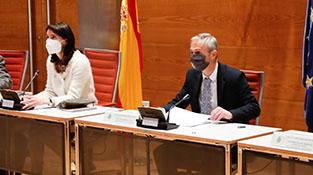 Pilar Llop y Ricardo Rivero