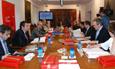 Imagen de la última reunión de la Comisión Interinstitucional