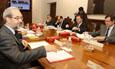 Reunión de la Comisión Ejecutiva del VIII Centenario