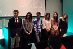 Alumnos de Odontología de la Universidad de Salamanca promueven la salud bucodental entre los escolares de Salamanca