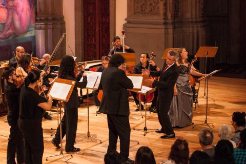 La música barroca clausura el programa académico y cultural desarrollado por la Universidad de Salamanca en la I Feria del Libro Universitario