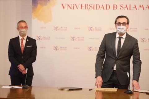 Pedro Fernández Soto, nuevo director del departamento de Biología Animal, Parasito, Ecología Edafología y Química Agrícola