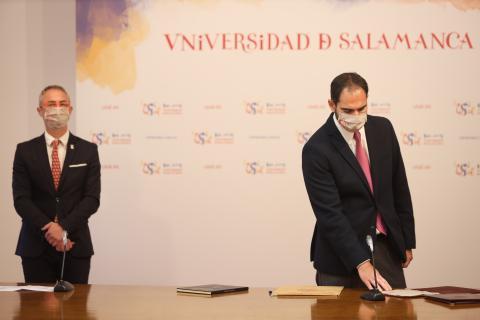 Miguel Ángel Lorenzo Fernández, nuevo director del departamento de Ingeniería Mecánica