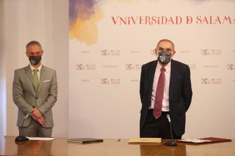 Enrique García Sánchez, nuevo director del departamento de Ciencias Biomédicas y del Diagnóstico